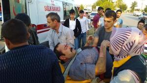 TIRın çarptığı bisikletin sürücüsü ağır yaralandı