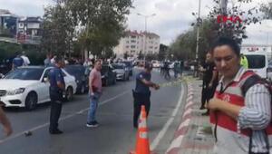 Kartaldaki Anadolu Adalet Sarayı önünde silahlı saldırı