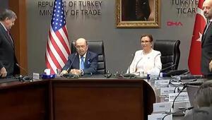 Ruhsar Pekcan Türkiye'nin talebini ABD'li Bakan ile ortak toplantıda açıkladı