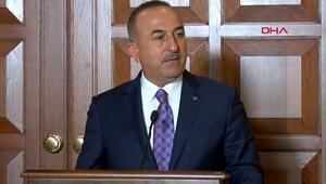 Bakan Çavuşoğlu'ndan ABD'ye tepki: Türkiye'nin planı hazır