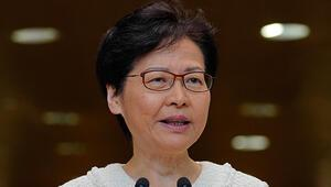 Hong Kong lideri diyalog çağrısını yineledi