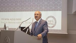İTÜ Ortaköy MTALin ilk dersi rektörden