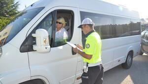 346 okul servis aracı trafikten men edildi