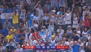 Polonya 65-91 Arjantin (ÖZET)