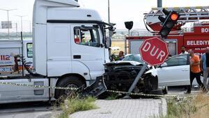 Emniyet müdürünün eşinin öldüğü kazada tanker sürücüsü serbest