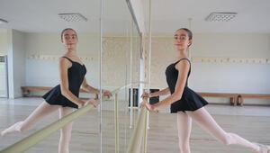 Genç dansıçının başarısı