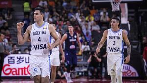 İlk yarı finalist Arjantin Sırbistanı 97-87 devirdiler...