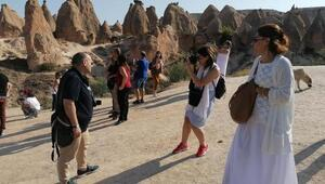 Kapadokyaya 8 ayda 2,5 milyon turist