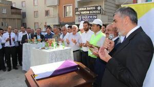 Şırnakta DEDAŞ binasının temeli dualarla atıldı