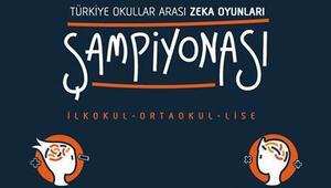 Türkiye Okullar Arası Zeka Oyunları Şampiyonası başlıyor