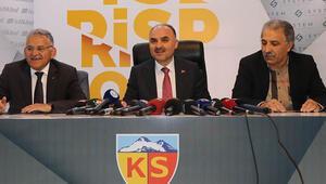 Kayserispor canlı yayında destek arayacak