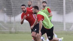 Antalyasporda Kayserispor maçı hazırlıkları sürüyor