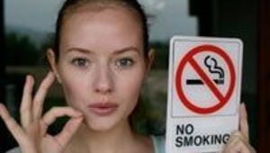 Kilo almaktan korktuğum için sigarayı bırakamıyorum