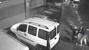 Taksiciyi vahşice öldürmüşlerdi Görüntüleri ortaya çıktı