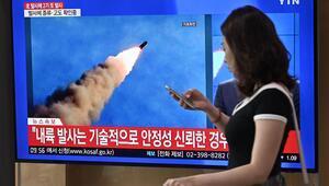 Kuzey Kore dünkü füzeleri süper büyük çoklu sistemle fırlattı