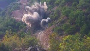 Erbaada kontrollü patlama kamerada