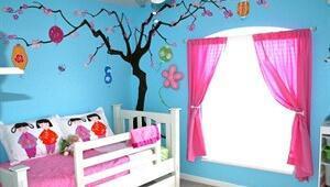 Çocuğunuzun yaşına göre çocuk odaları