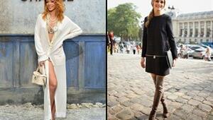 2014 Paris Moda Haftası sokak stilleri