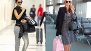 Ünlülerin havaalanı stilleri