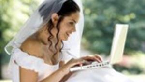 Her 10 gelinden 8i düğününü internetle planlıyor