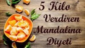 5 Kilo Verdiren Mandalina Diyeti
