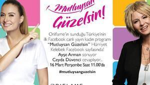 Türkiye'nin İlk Canlı Yayın Facebook Kadın Programı ''Mutluysan Güzelsin''