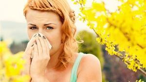 Bahar İle Birlikte Gelen Alerjiye Dikkat