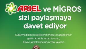 Ariel ve Migros Çocukların Yüzünü Güldürmeye Devam Ediyor