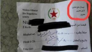 Terör örgütü YPG,  sözde Afrini kurtarmak için para topluyor