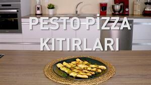 Pesto Pizza Kıtırları