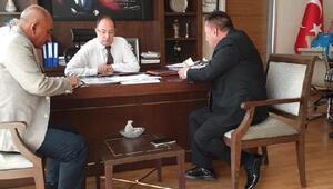 Başkan Beyoğlu, Ankarada temaslarda bulundu