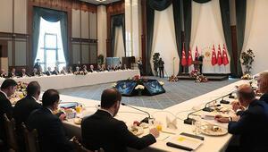 Son dakika... Büyükşehir belediye başkanları toplantısında Erdoğandan önemli mesajlar