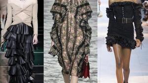Bayan Modasının En Süslüsü: Fırfır Trendi
