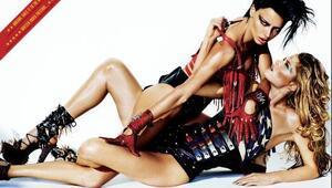 Adriana Lima ve Doutzen Kroes V magazinde