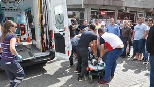 Tekirdağda hasta ziyaretine giden sürücü yaralı olarak aynı hastaneye kaldırıldı