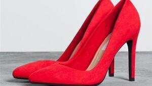 100 TL Altı Kırmızı Yılbaşı Ayakkabıları