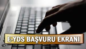 e-YDS başvuruları ÖSYM tarafından başlatıldı e-YDS başvuru ekranı