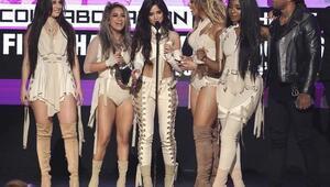 Amerikan Müzik Ödülleri Gecesinden Görüntüler