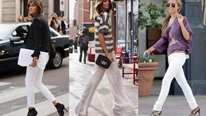 Beyaz Pantolon Nasıl Giyilir