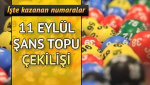 Şans Topunda büyük ikramiye devretti 11 Eylül MPİ Şans Topu çekiliş sonuçları