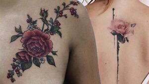 Çiçek Severler İçin Çiçekli Dövme Modelleri