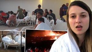 Son dakika... KKTCde Girnede askeri bölgedeki cephanelikte patlama meydana geldi