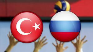 Türkiye Rusya voleybol maçı ne zaman saat kaçta hangi kanalda