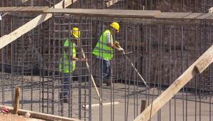 Bandırma'da 500 kişilik caminin temeli atıldı
