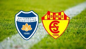 Sultanbeyli Belediyespor Edirnespor Ziraat Türkiye Kupası maçı saat kaçta ve hangi kanalda
