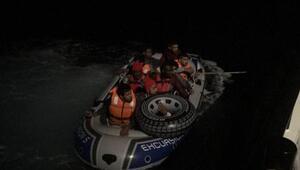 Datça ve Bodrum'da 46 kaçak göçmen yakalandı
