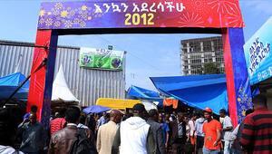 Etiyopya 2012 yılına merhaba dedi