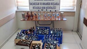 Kayseride 135 şişe kaçak alkol ele geçirildi