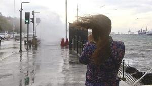 Son dakika...Meteorolojiden İstanbul için kuvvetli rüzgar uyarısı