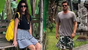 Bali'de aşk tazelediler